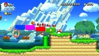 New Super Mario Bros. U - Eichenhain-1 - Die große Power-Up-Polonaise (Wii U)