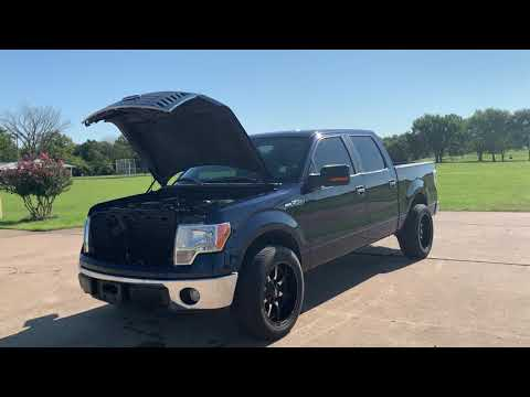 2010 BLUE /GRAY Ford F-150 SuperCrew 5.5-ft. Bed 2WD (1FTEW1C80AF) with an 4.6L V8 SOHC 24V engine, 4-Speed Automatic transmission, located at 17760 Hwy 62, Morris, OK, 74445, (918) 733-4887, 35.609104, -95.877060 - Photo #0