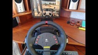 комфортно ли рулится Logitech MOMO Racing в Euro Truck Simulator 2