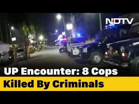 Download Eight UP Policemen Shot Dead By Criminals In Kanpur