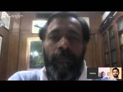 Swaraj Samwad - Hangout 1 on Apr 11, 2015