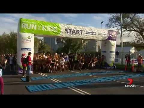 2014 Herald Sun / CityLink Run for the Kids - Channel Seven