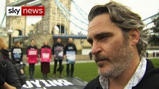 Joaquin Phoenix: 'People should be panicking'