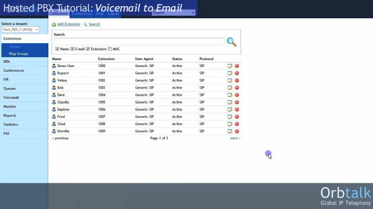 Voicemail To Email Youtube