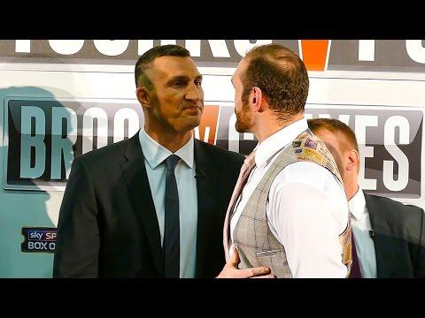 Wladimir Klitschko vs Tyson Fury Face to Face