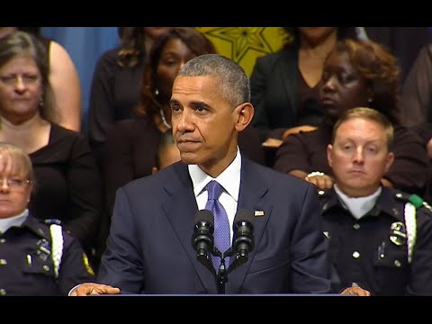 Obama Full Remarks at Dallas Memorial Service