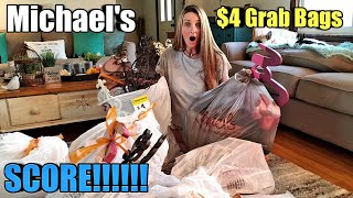 HUMONGOUS Michael's $4 grab bags/$2,600 worth for $40 = 260 Items! WOW!!!