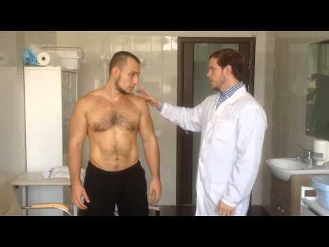 После отжимания болит плечо