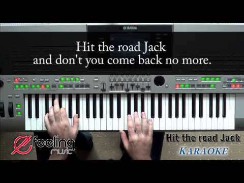 Hit The Road Jack - Lyrics, Karaoke