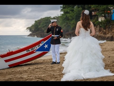Puerto Rico Wedding.Puerto Rico Destination Wedding On A Traditional Yola