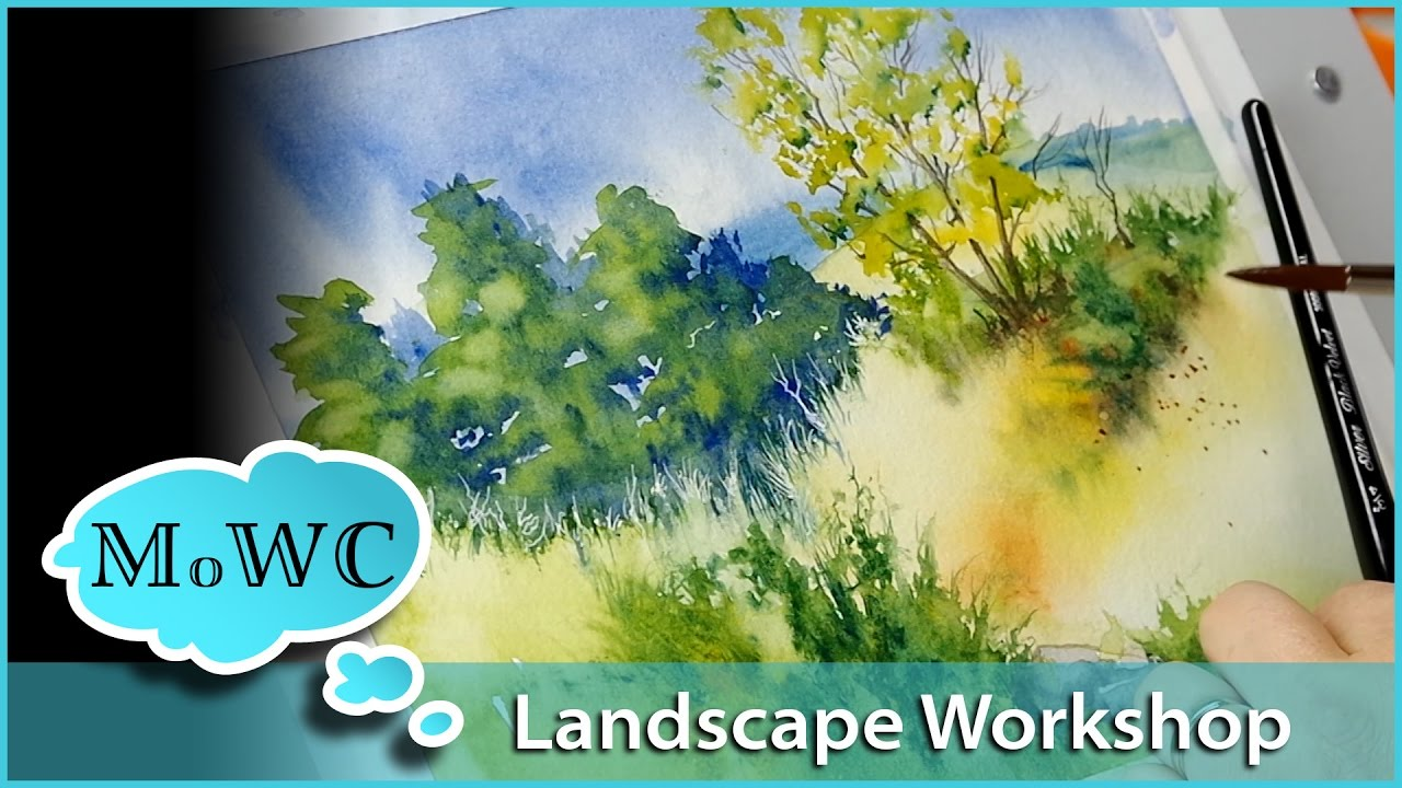 Strathmore Artist Workshop Landscape Part 2 Youtube