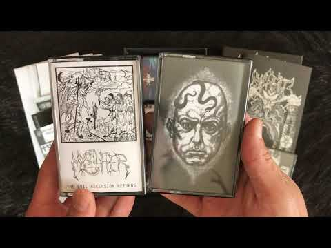 """Mystifier - My Gloat & Osculum Obscenum (Unboxing """"The Sign Of The Unholy Baphomet"""" 6MC Box)"""