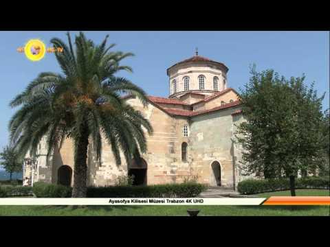 Ayasofya Müzesi Trabzon Kilisesi 4K UHD