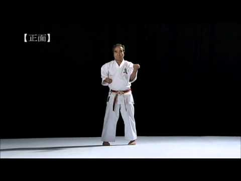 Sanchin kata by Goshi Yamaguchi