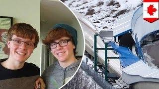 Братья-близнецы погибли на бобслейной трассе