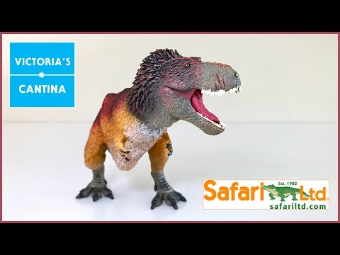 Safari Ltd. 2017 Feathered Tyrannosaurus Rex Review