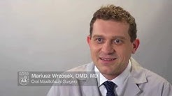 Oral surgeon: Mariusz Wrzosek, DMD, MD