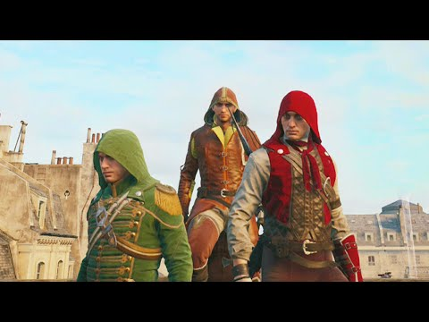 Insane Co-op Missions (Assassin's Creed Unity Funny Moments)