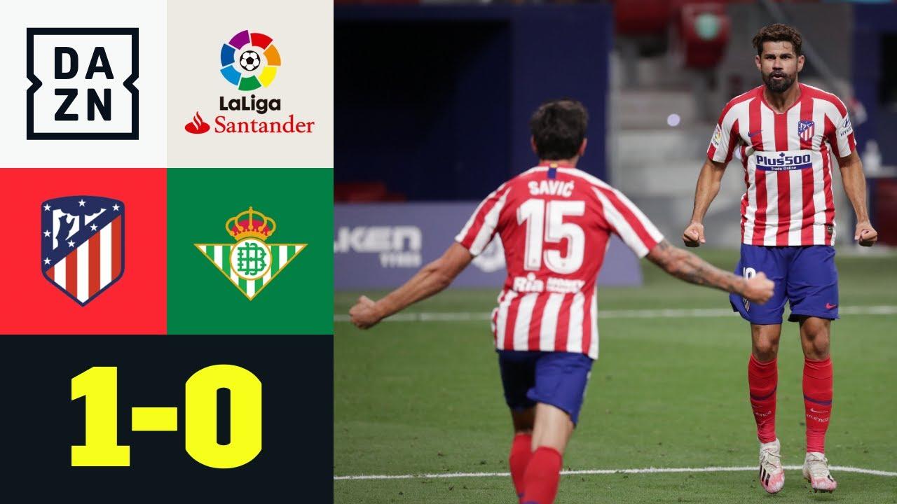 Diego Costa decisivo: Atletico Madrid-Betis Siviglia 1-0 | LaLiga | DAZN Highlights