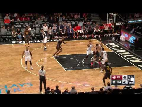 Atlanta Hawks vs Brooklyn Nets | April 2, 2017 | NBA 2016-17 Season