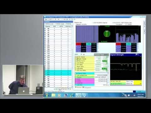 Fluke Networks 802.11ac WiFi Analysis Tool Demo