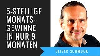 Von SCHULDEN zu 5-stelligen Monatsgewinnen in nur 9 Monaten   Oliver Schmuck
