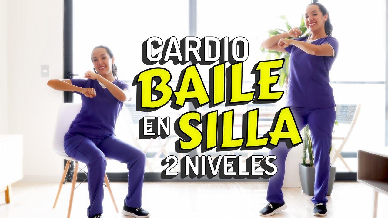 Cardio Baile en Silla para Mayores | 2 Niveles