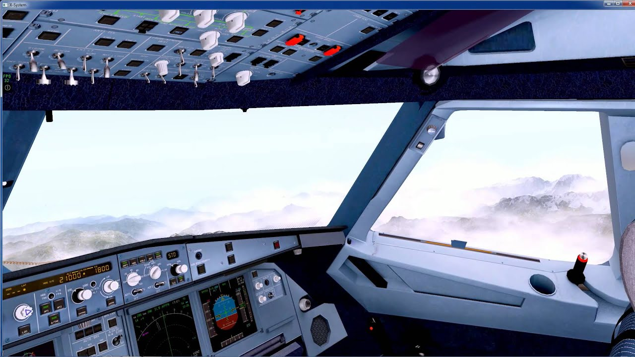 X Plane 10-A320(neo)LSZH to LOWI-Full-Outstanding