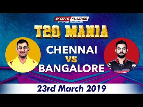 🔴Live: CSK vs RCB | Live Scores and Match Discussion | IPL 2019
