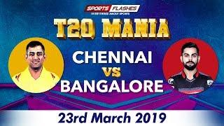 Chennai vs Bangalore | Live Scores and Match Discussion |