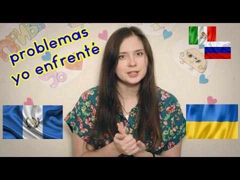 Chica ucraniana (Rusa) en Guatemala habla español sobre problemas que enfrentó en Latinoamérica