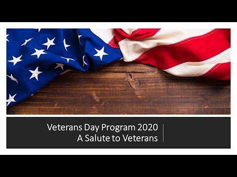 Fleming County High School Veterans Day Program 2020