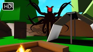 Roblox BrookHaven RP Creepy Camping (Scary Full Movie)