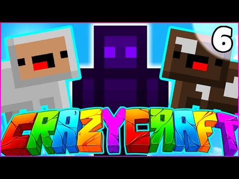"Minecraft CRAZY CRAFT 3.0 SMP - ""RARE CLOUD PETS"" - Episode 6"