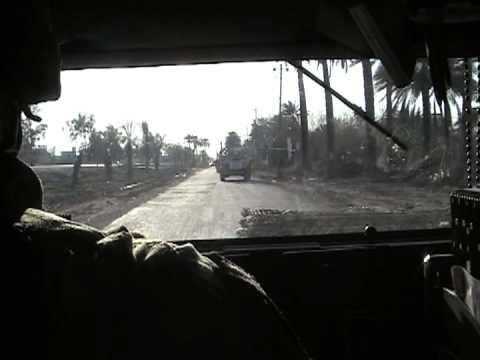 Driving through Doura, Baghdad, Iraq