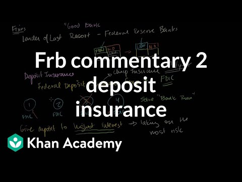 FRB Commentary 2: Deposit Insurance