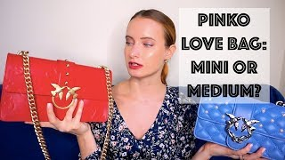 BAGS OF MY SUMMER: PINKO BAGS REVIEW