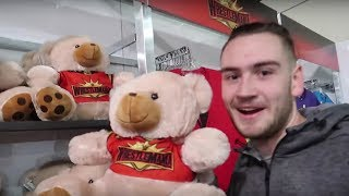 Visiting The WWE WrestleMania 35 Superstore!! | Brandon Hodge Vlog #81