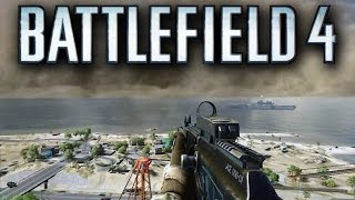 Battlefield 4 Gulf of Oman Gameplay - Second Assault (Sandstorm, Boats, Dune Buggy & More!)