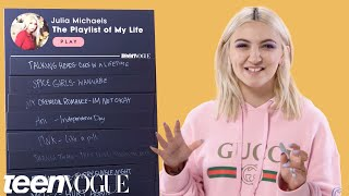 Julia Michaels Creates The Playlist of Her Life   Teen Vogue