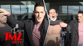 Mr. Pec-Tacular Flips The Script On Our Cameraman | TMZ TV
