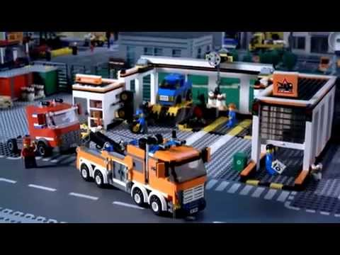 Lego City Garage 7642 Youtube