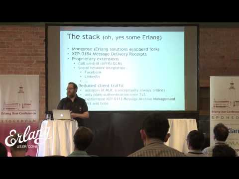 Jan Henry Nyström - Zaark, An Erlang Themed Voyage into VOIP and Messaging