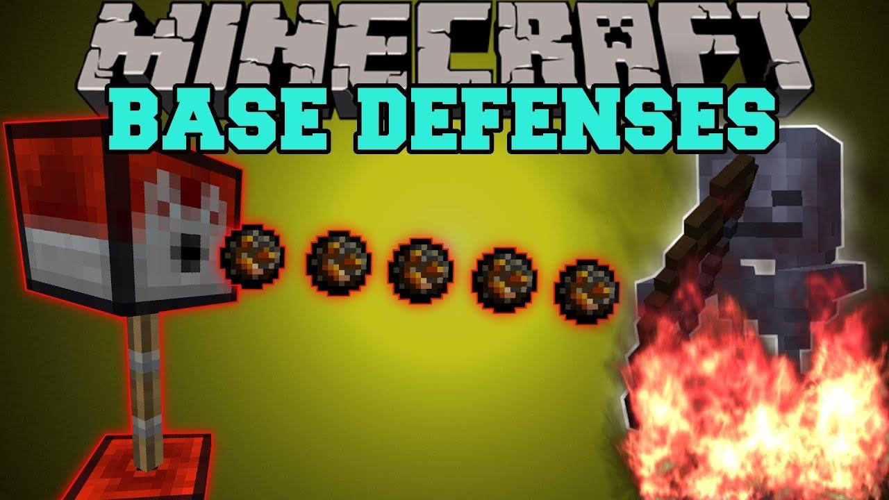 Скачать мод Base Defense для Майнкрафт 1.7.2