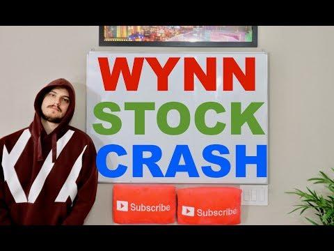 Wynn Stock Crashes! Steve Wynn Sexual Harassment Allegations!