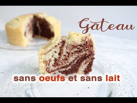 recette-gÂteau-facile-sans-oeufs-et-sans-lait--2-versions-/-eggless-and-diary-free-easy-cake-recipe