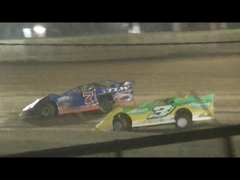 RUSH Crate Late Model Heat Three | Eriez Speedway | September Sweep | 9-23-16