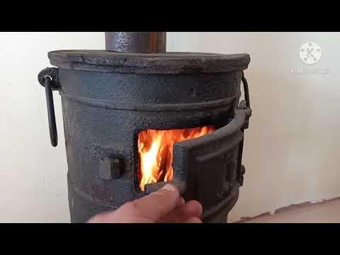 Армейская печка буржуйка