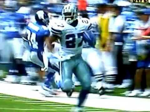 Eddie George:24 yard run Cowboys vs Giants 2004