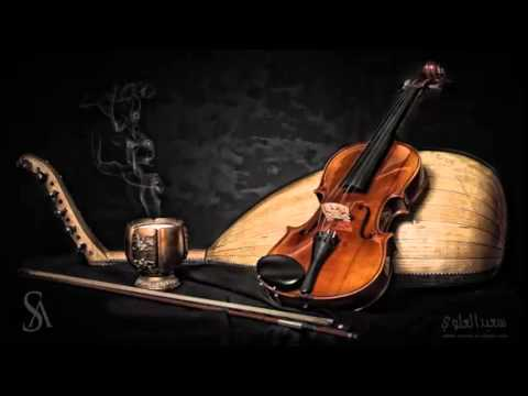 Music oud and violin